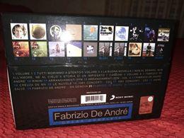 Cofanetto Fabrizio De Andrè nuovo + DVD in regalo