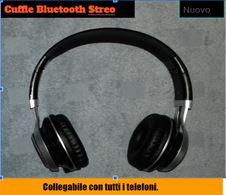 Cuffie stereo Bluetooth ovunque ricaricabili.
