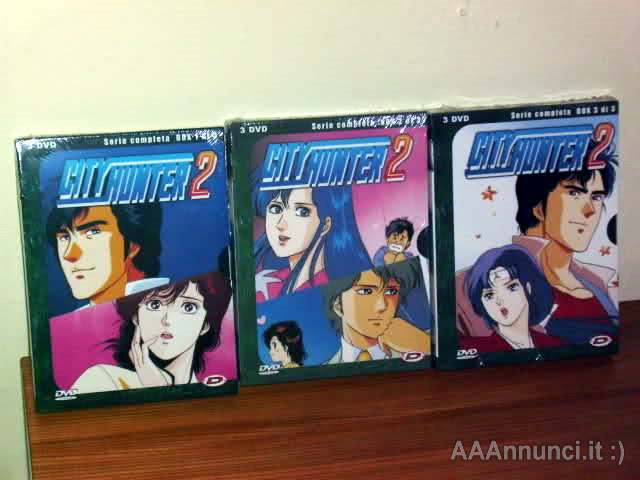 City Hunter tutte le serie complete in box dvd dynit