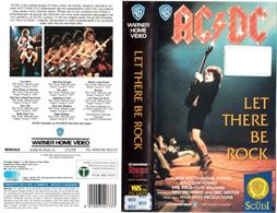 Videocassetta AC/DC Let there be rock