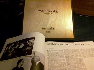 Vinili musica classica W.GIESEKING pianista