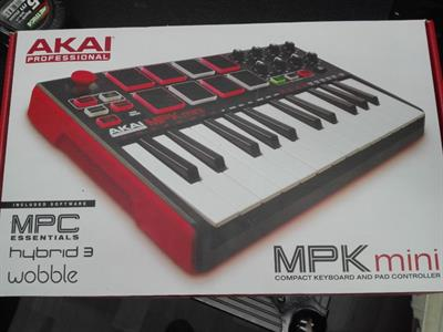 AKAI Professional MPK Mini MKII - Tastiera MIDI