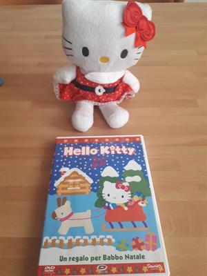 Hello Kitty piu' pupazzo