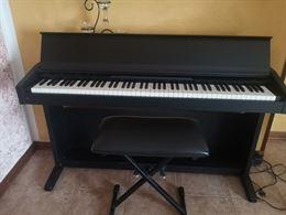 Pianoforte elettrico a muri