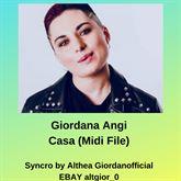 Giordana Angi - Casa (Midi File)