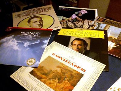 VINILI musica classica nuovi come da negozio